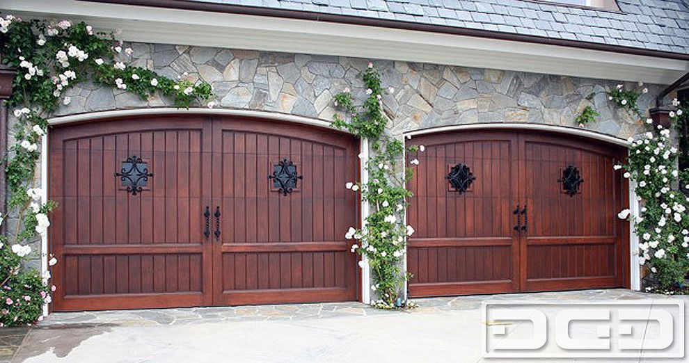 Luxury Garage Doors Garage And Shed Mediterranean With Carriage Style Garage  Doors (990×522) | Architecture, Interior U0026 Landscape Design |  Pinterest ...