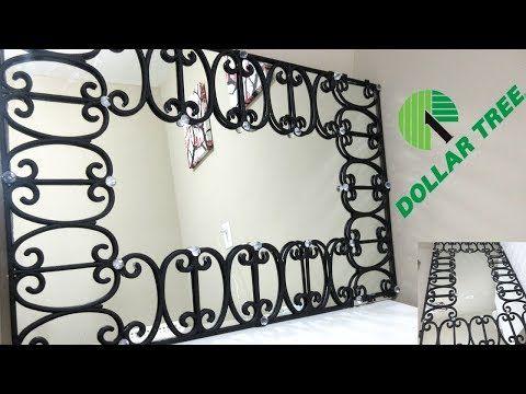 Diy Dollar Tree Decorative Wall Mirror Diy Home Decor