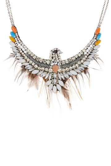 WOW! Quite the necklace.