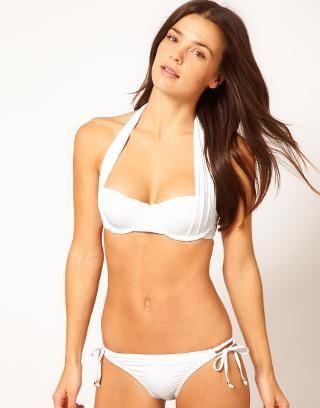 River Island Marilyn  White  Bikini at ASOS  60914457c8