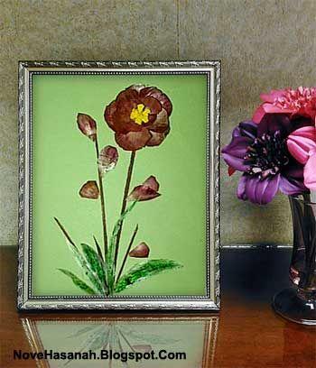 Prakarya Bunga Dari Kulit Bawang Kulit Bunga Bawang