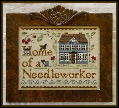 Home of a needleworker (too!) Un clásico de little House needleworks en www.lacasinaroja.com