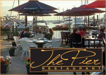 Pier Restaurant Downtown Newport Ri Little Rhody