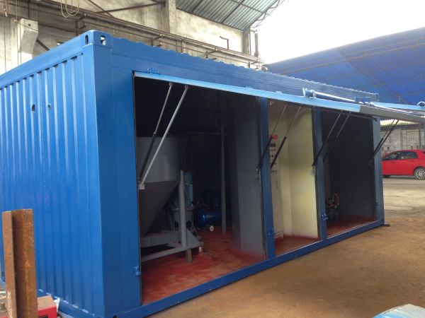 grout mixer batching plant