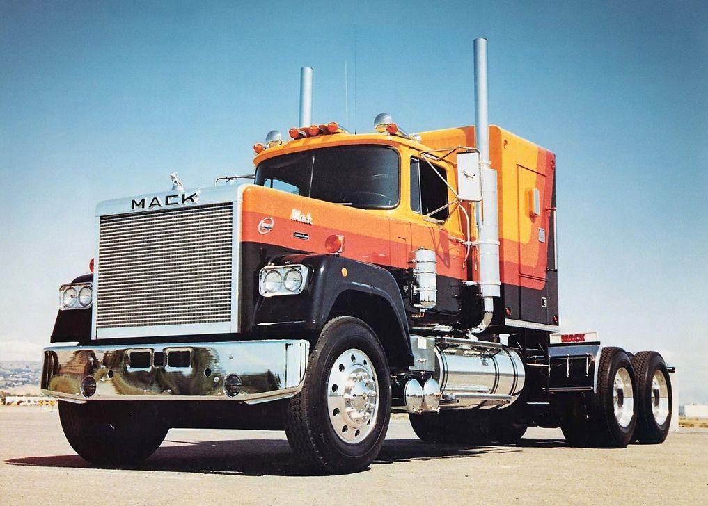 Vintage Mack Superliner Conventional Trucks Mack Trucks Cool
