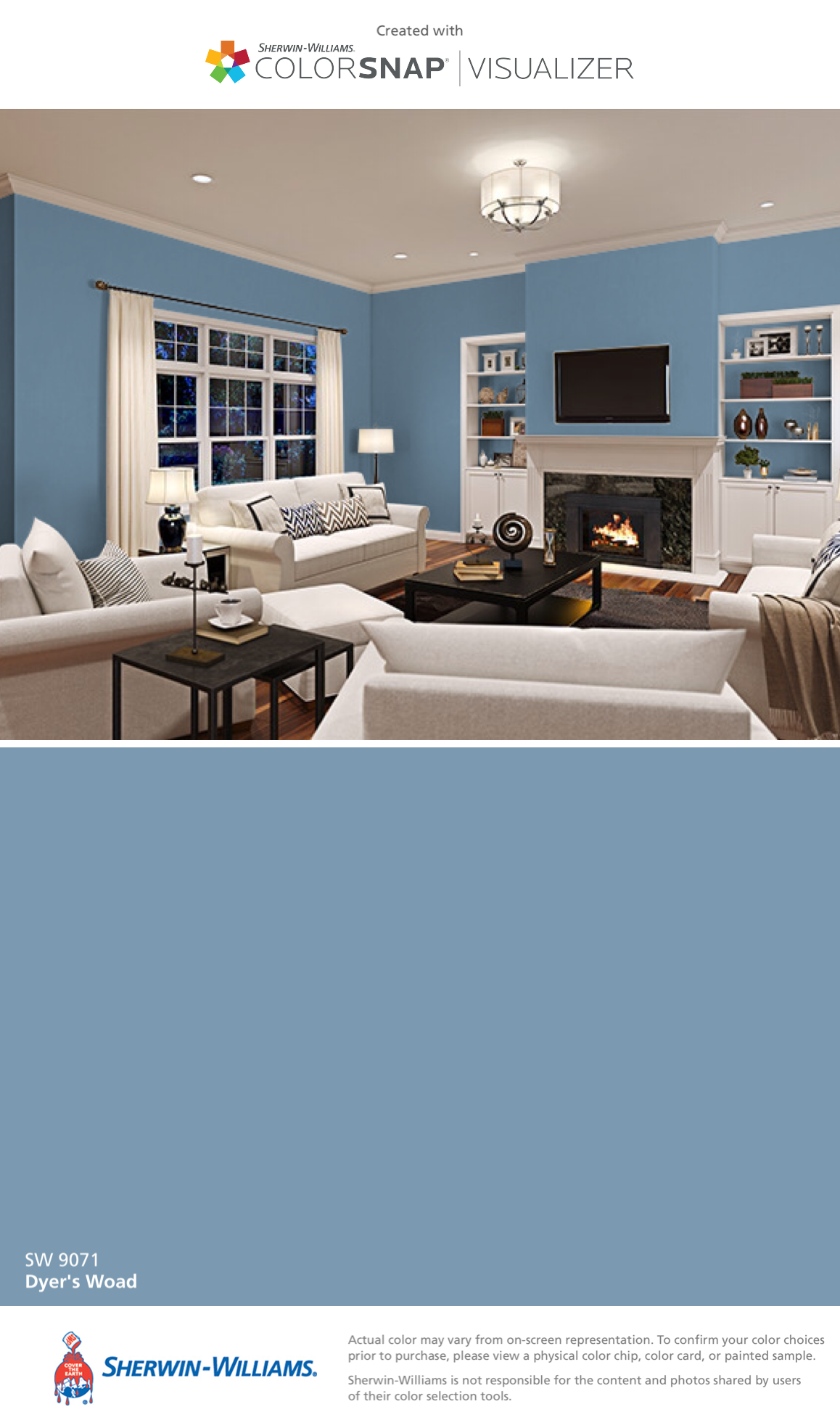 I Found This Color With Colorsnap Visualizer For Iphone By Sherwin Williams Dyer S Sherwin Williams Paint Colors Matching Paint Colors Paint Colors For Home