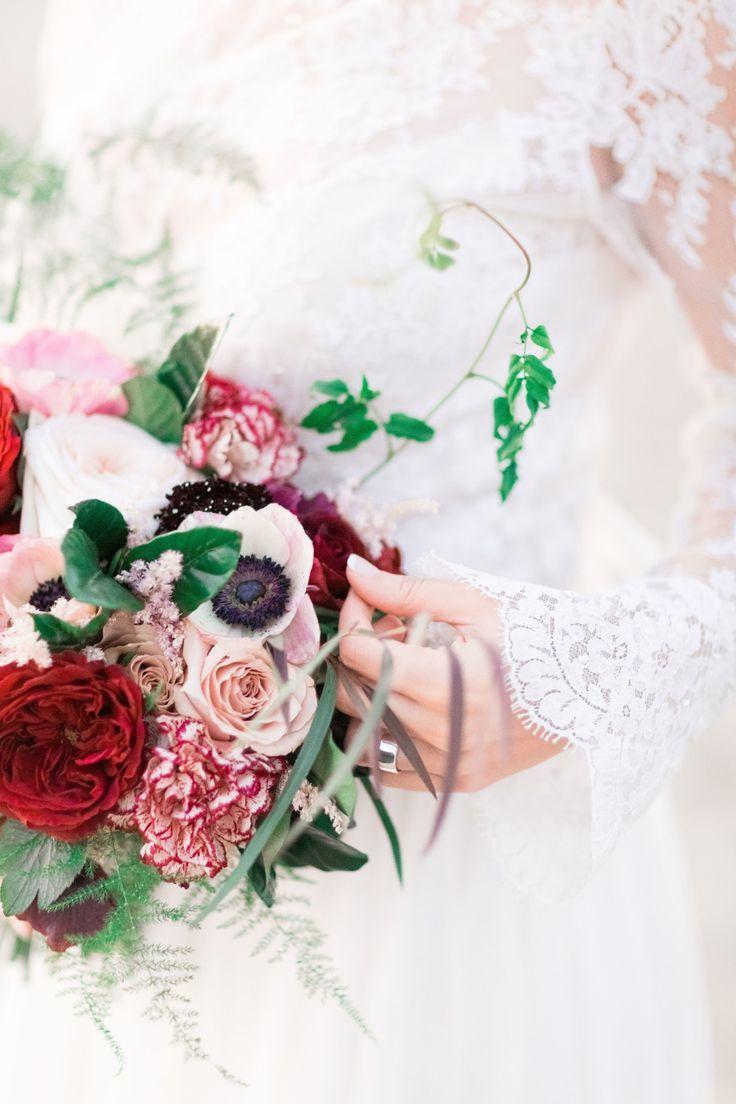 Autumn Wedding Flowers with burgundy details   Pinterest   Fall ...