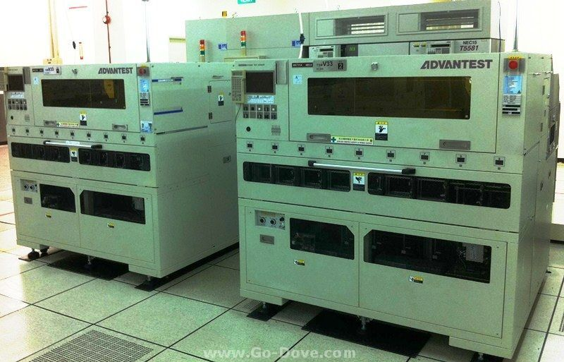 Semiconductor Test Equipment : Renesas semiconductor singapore advantest testers
