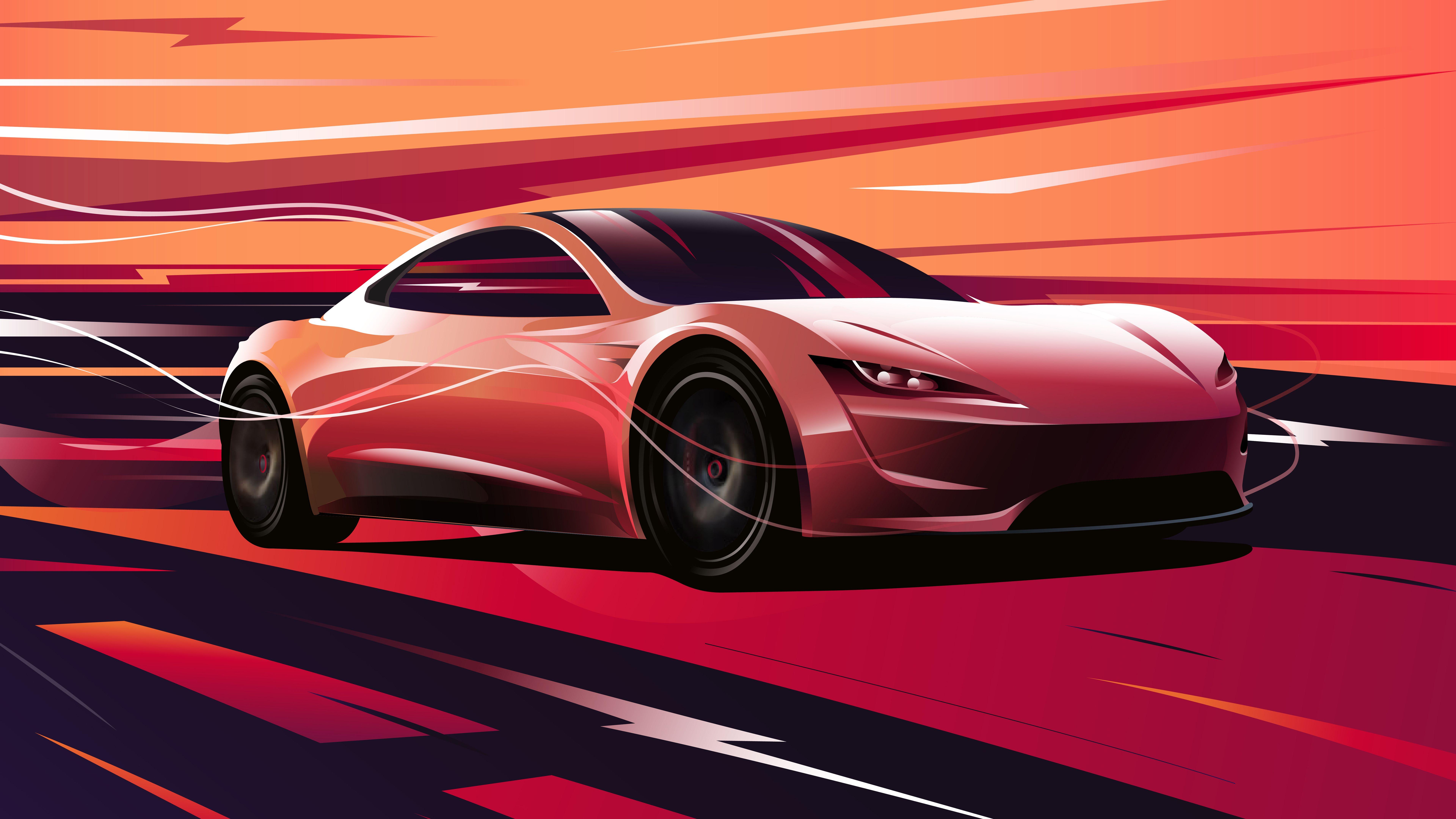 Tesla Roadster 2020 4k 8k Tesla Roadster Car Wallpapers Roadsters