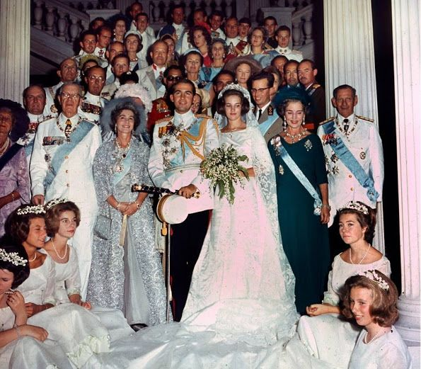Queen Anne Marie Celebrates Her 70th Birthday Royal Wedding Gowns Royal Brides Royal Weddings