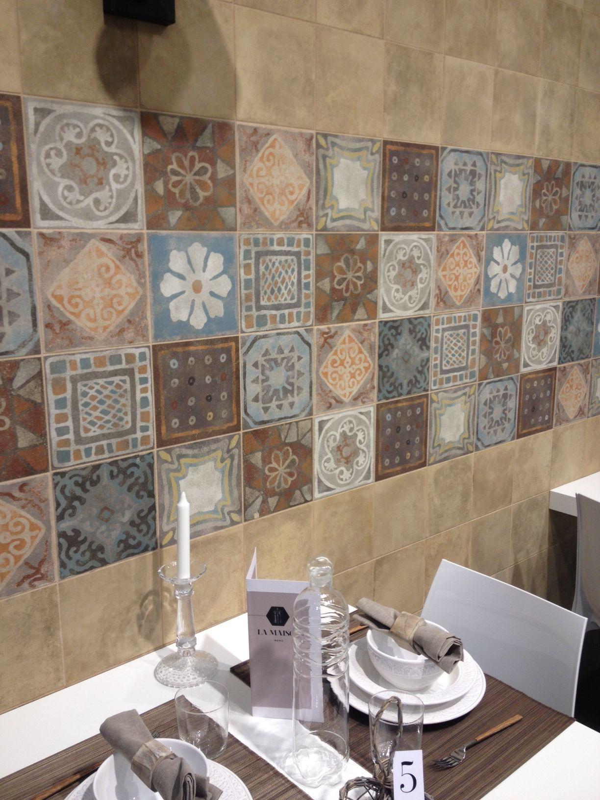 Colorful encaustic tiles at panaria ideas pinterest encaustic