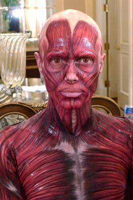 muscle man halloween makeup for men halloween costumes halloweencostumesforfamily sherman financial group - Halloween Muscle