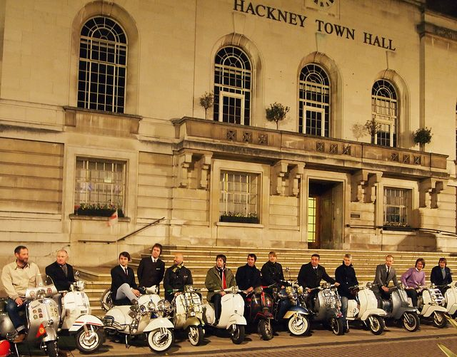 Stamford Hill - 50 years of Mods by The Mod Generation, via Flickr