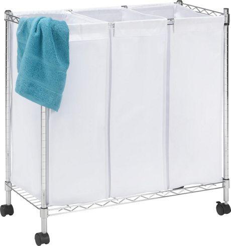 Wäschekorb verchromt Texil bei mömax günstig online zu bestellen - badezimmer zubehör günstig
