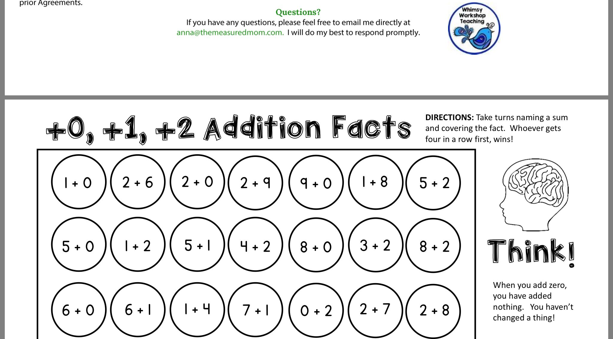 Pin By Shelley Leibovitch On Math Games