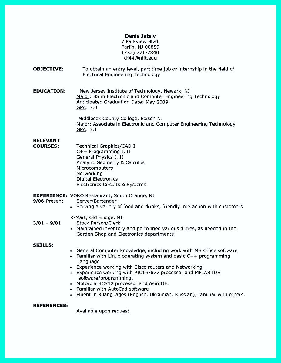 The Best Computer Science Resume Sample Collection