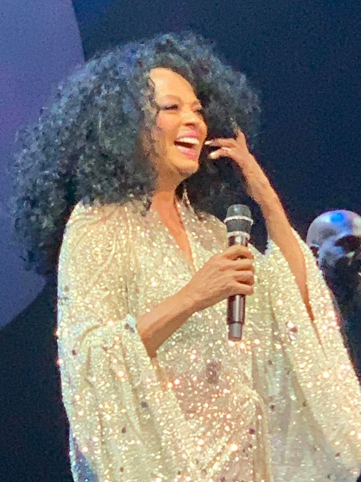Diana ross at the the wynn encore theatre in las vegas nv