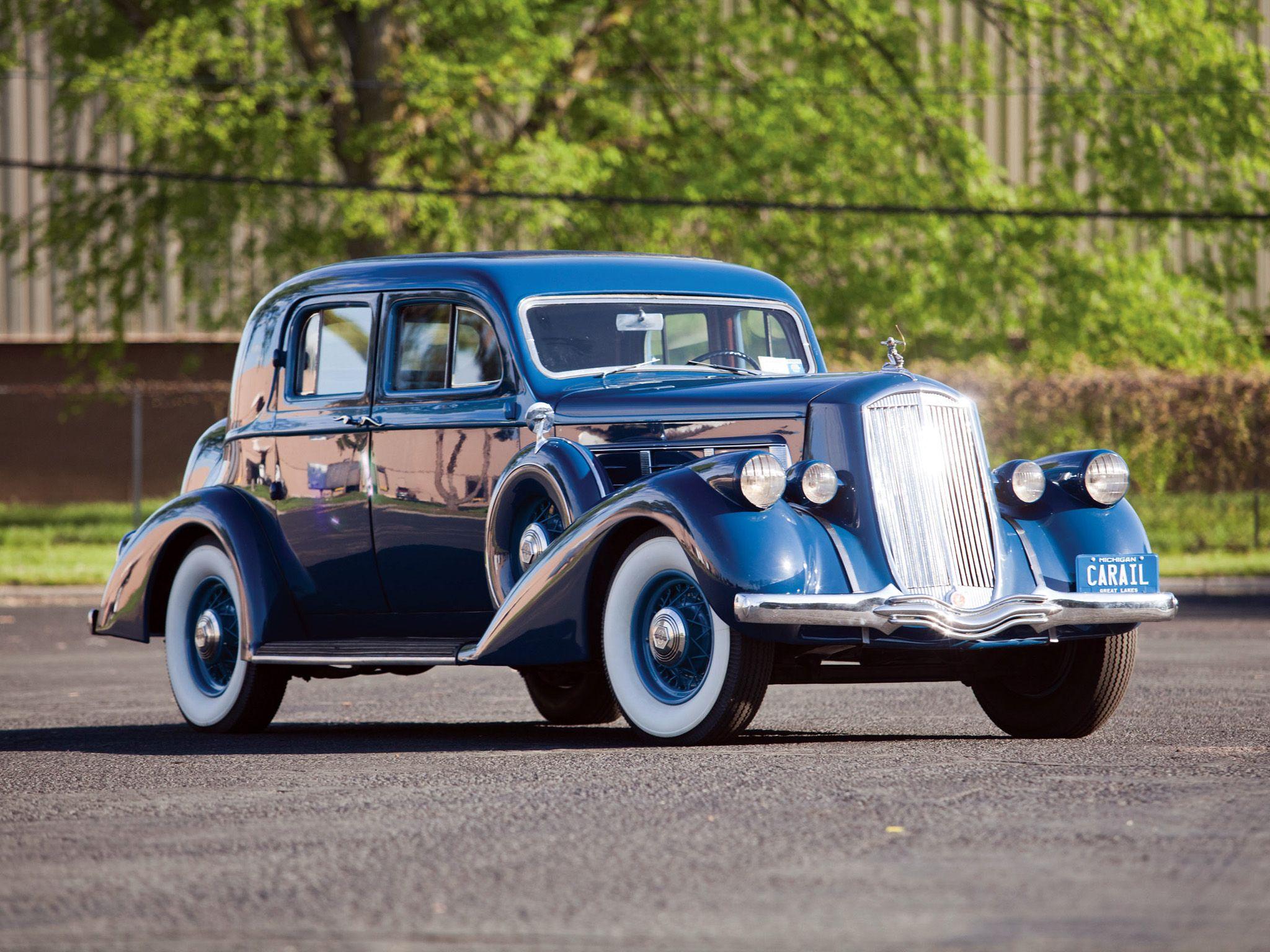 1936 Pierce Arrow Deluxe 8 Club Sedan - (Pierce-Arrow Motor Car ...