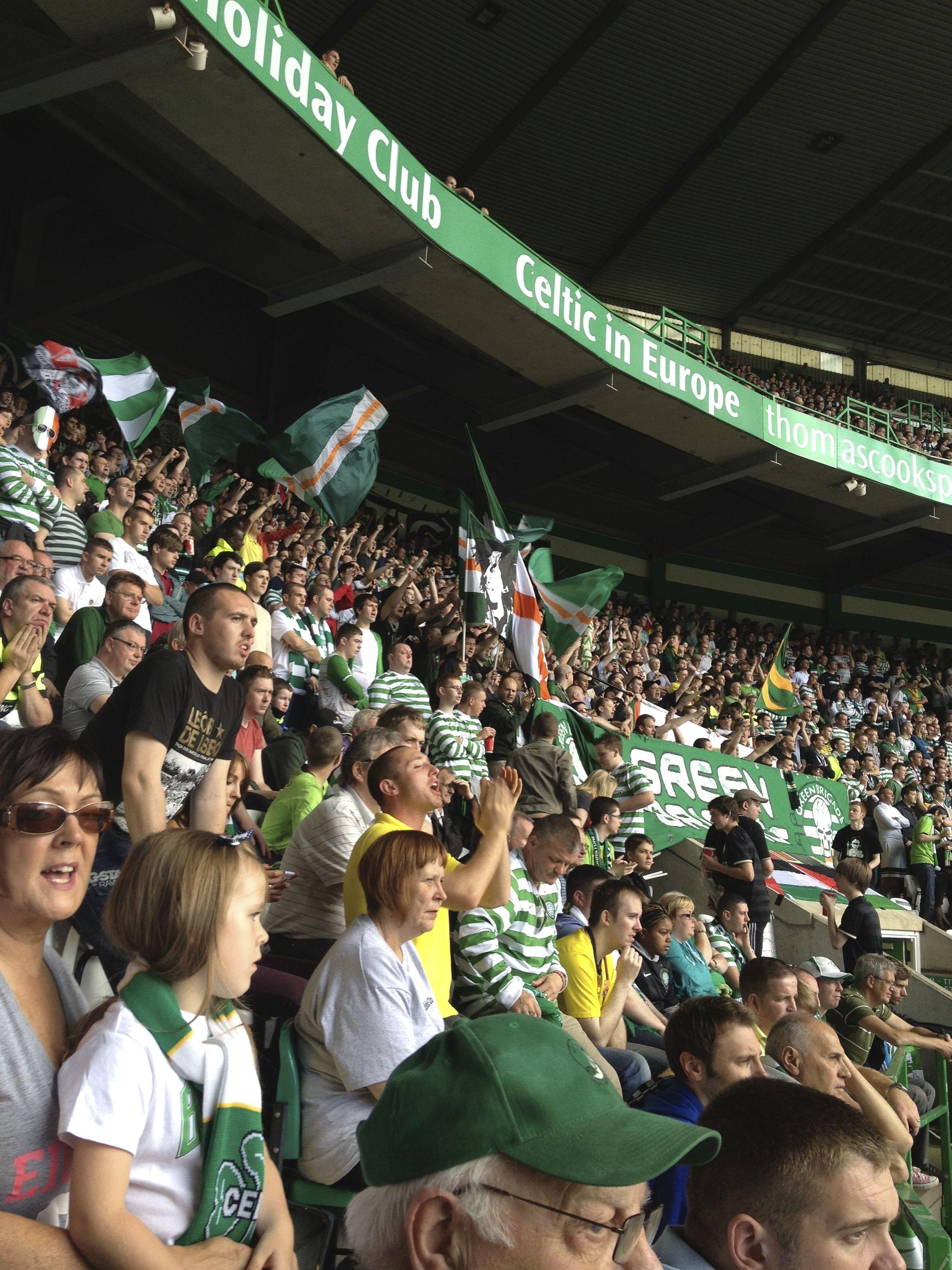 Celtic park green brigade football club celtic football