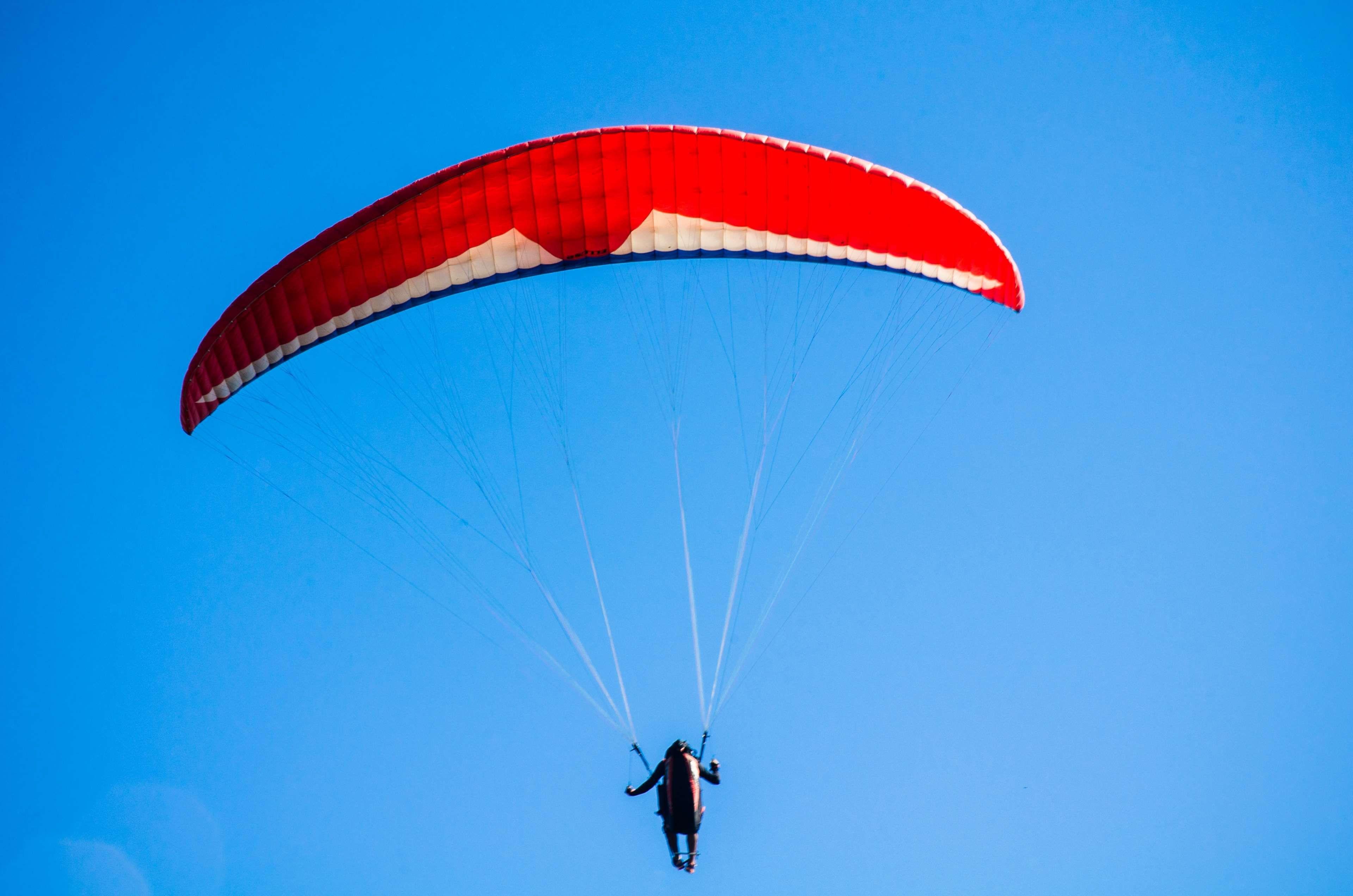 #action #adventure #fly #fun #man #parachute #paragliding #person #sport