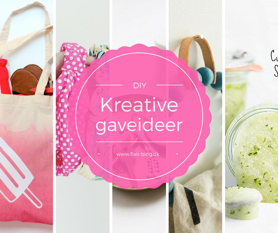 Giv en hjemmelavet gave - 6 kreative ideer til DIY gaver
