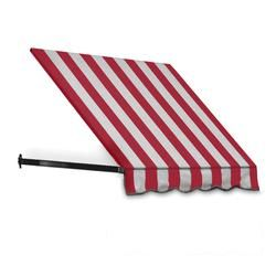 Red And White Striped Awning For Clam Shack Door Awnings Windows And Doors Window Awnings