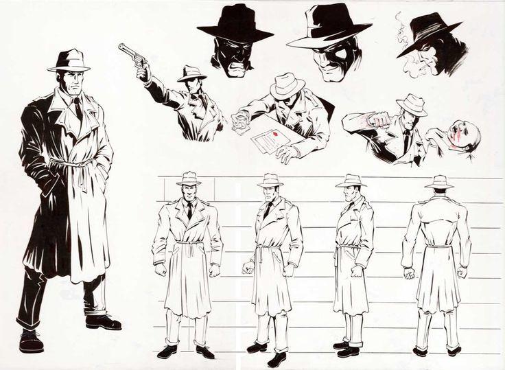 detective character sheet by erik benson on deviantart keywords detective trench coat fedora