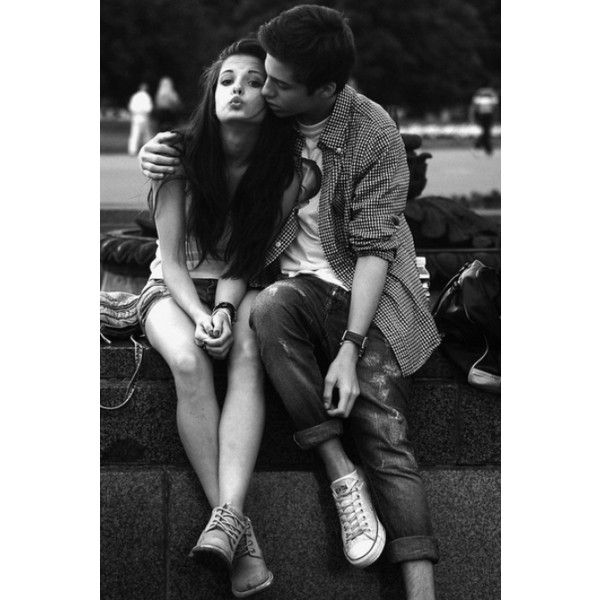 Preference #5: One of the boys tweets a picture of you ❤ liked on Polyvore featuring couples, pictures, love, backgrounds and pics
