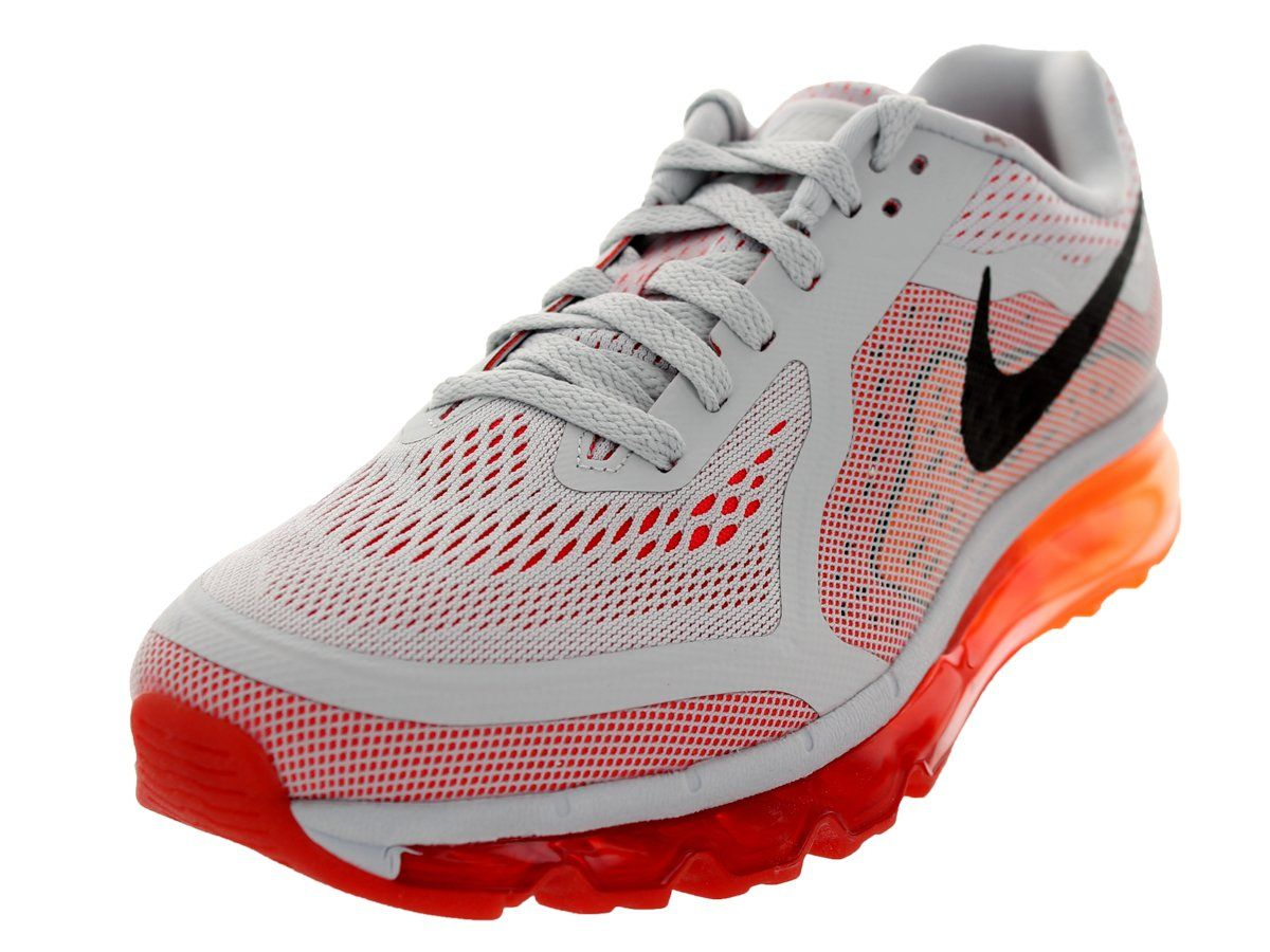 Nike Women's Air Max 2014 Running Shoe.Tubular construction with Max Air unit for maximum cushioning and flexibility . Lightweight perforated foam conforms to foot with structured breathability . #runningshoesforwomen