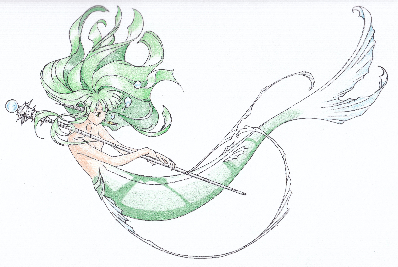 #drawing #art #artwork #sketch #mermaid
