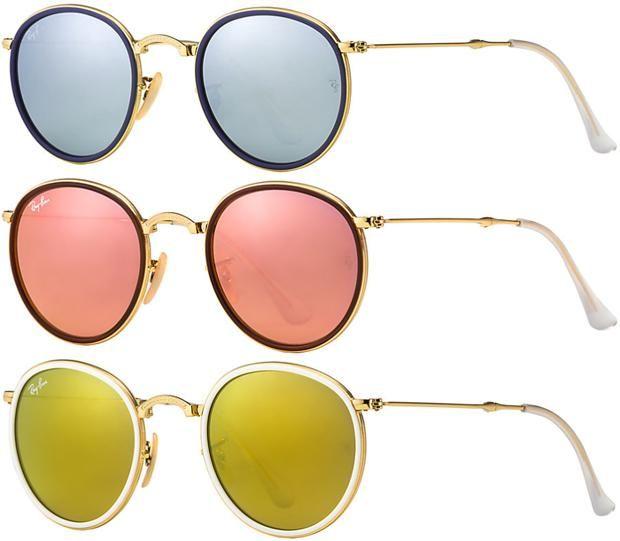 cce0ca3a4f ray ban azul espelhado redondo - Pesquisa Google   Specs   Gafas ...