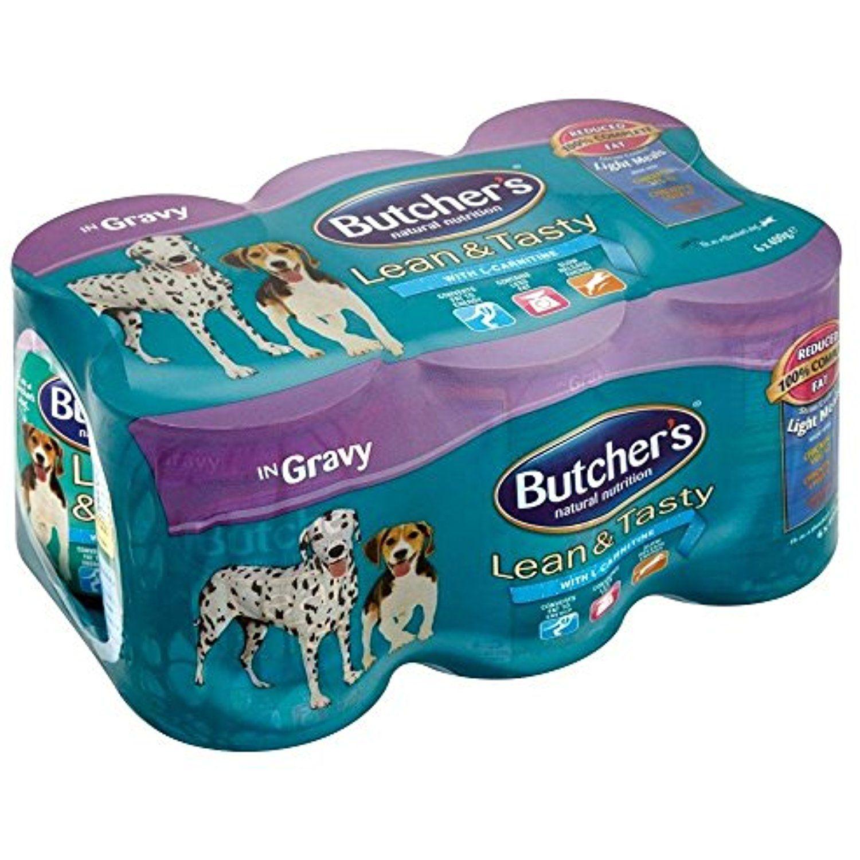 Butchers lean tasty dog food in gravy 6x400g you