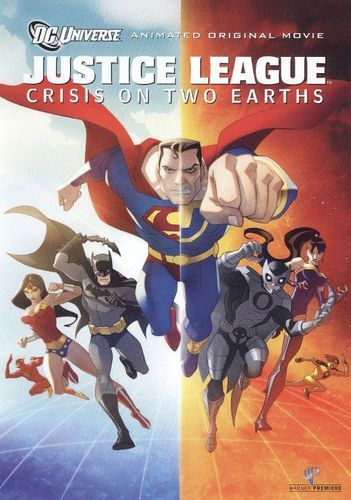 Justice League Crisis On Two Earths Dvd 2010 Best Buy Watch Justice League Justice League Original Movie
