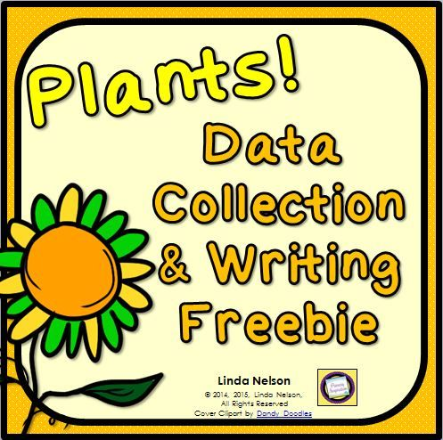 Plants Graphing and Writing Activities   science   Second