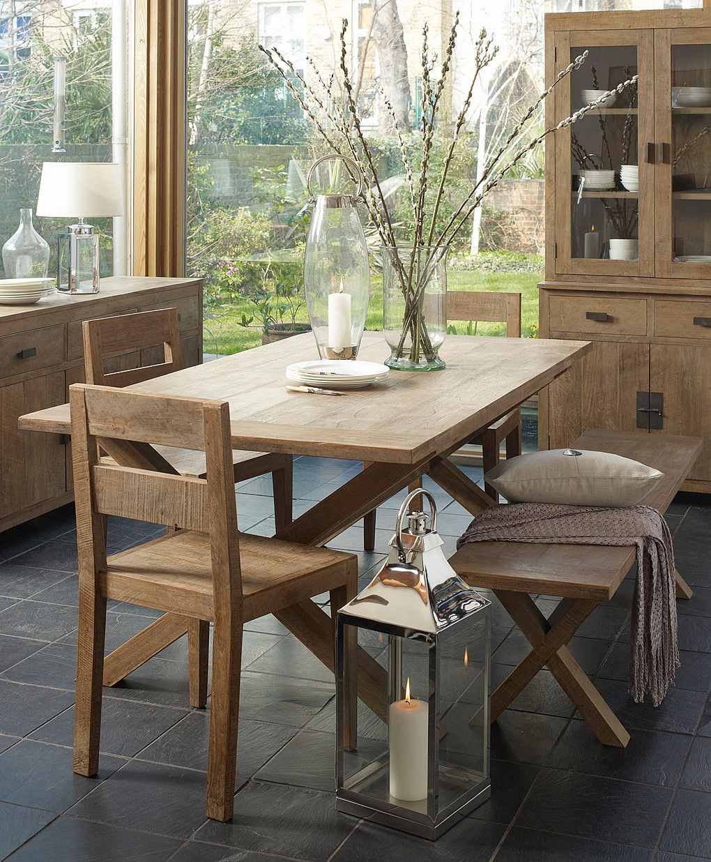 22+ Reclaimed dining room table and chairs Ideas