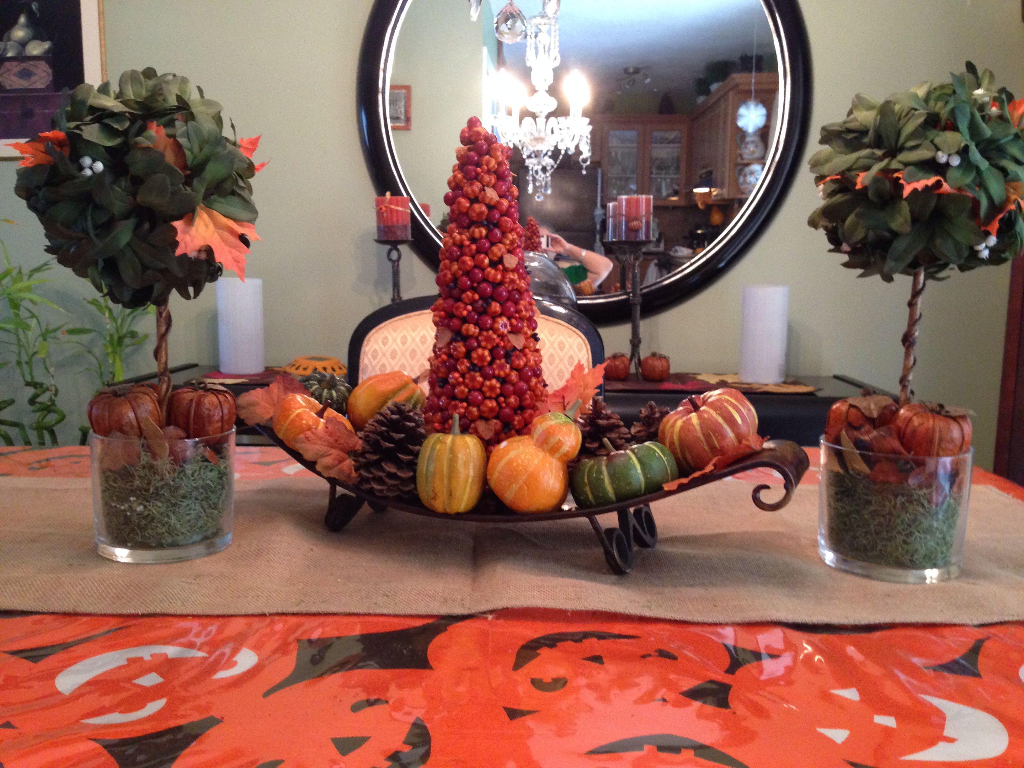 My Halloween  decor!!!