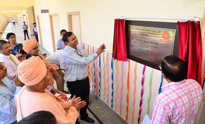 Gurugram School Opens Electronics  U0026 Computing Lab