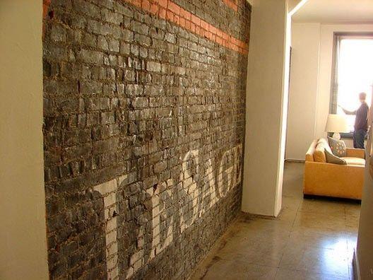 brick wall by guida Brick wall, Brick interior wall, Brick