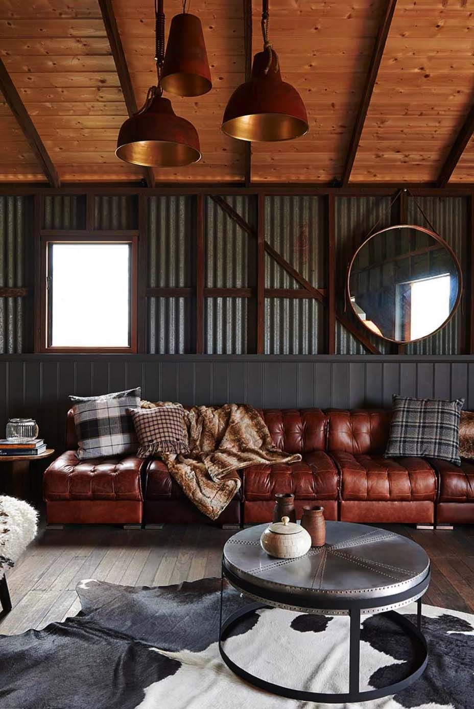 How To Get A Luxury Living Room Pt 1 Golden Lighting: Thinking Outside The Box: Modern Barn Conversion In Australia