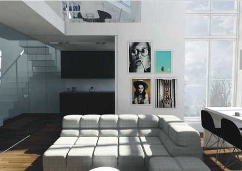 WANT this sofa..  loft-design-13