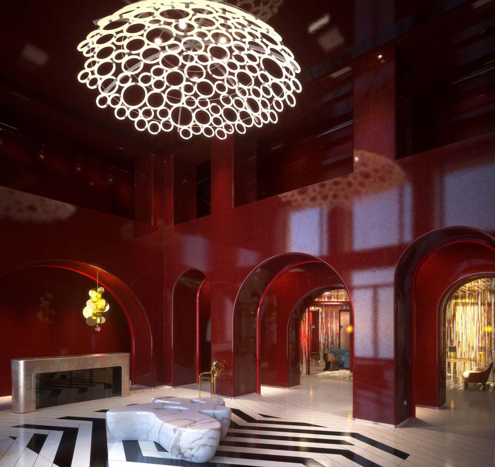 Hotel du louvre lamps lighting pinterest for Hoteles diseno paris