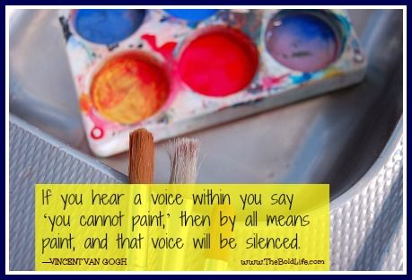 Paint and that voice will be silenced!
