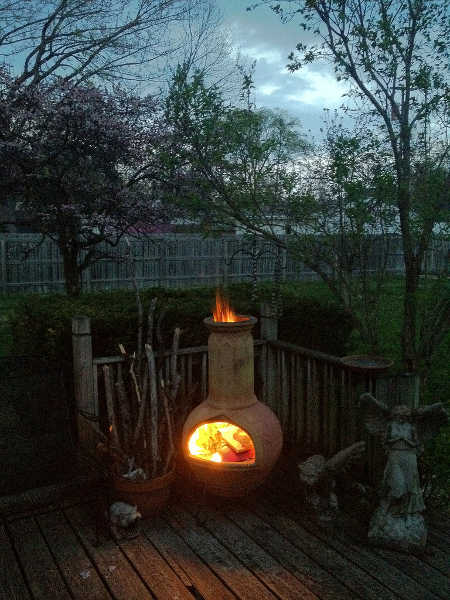 6 Best Chimineas For Your Backyard In 2020 Epic Gardening Chiminea Rustic Fireplaces Deck Projects