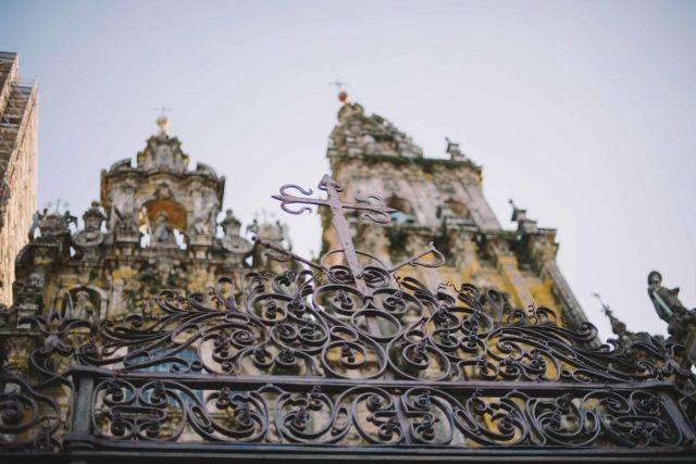 Main façade. Obradoiro.