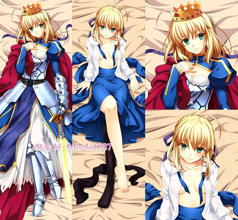 Of Fate Stay Night Pillow Zero Saber
