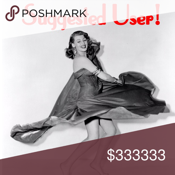 I am feeling like.... ...kickin' off my heels and tearing up the dance floor! So grateful, honored and blessed to be chosen by Poshmark as a Suggested User. Thank you to all my cherished PFFs who guided me along the way. My closet is carefully curated and compliant. Need help with yours? Ask me anything! Please don't hesitate. Suggested User Other