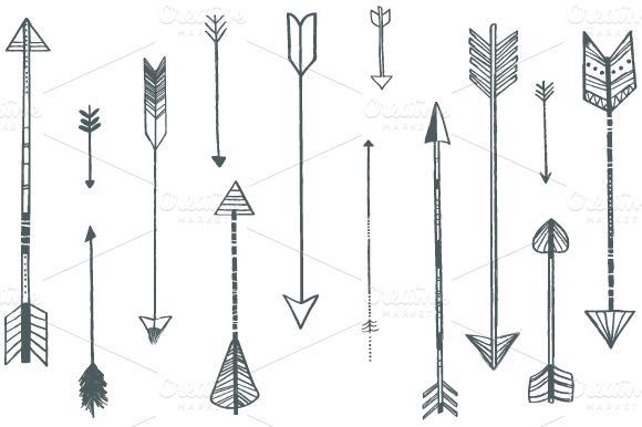 42 Arrow Designs Arrow Design Arrow Illustration Arrow Tattoo