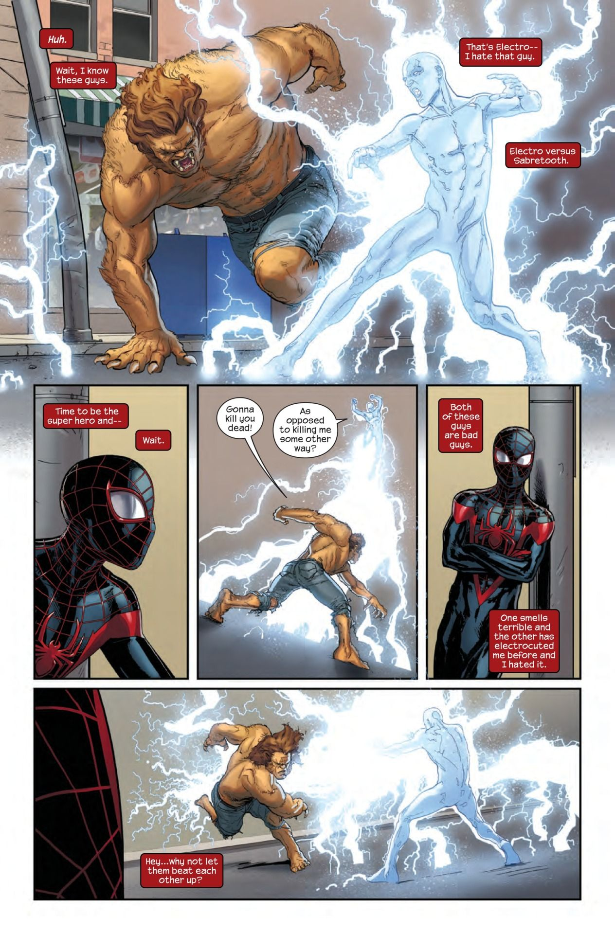Miles morales the ultimate spiderman 10 ultimate