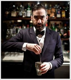 Tony Conigliaro of London's 69 Colebrooke Row, The Zetter Townhouse and The Drink Factory - Willy Wonka stirred with a dash of Old School.