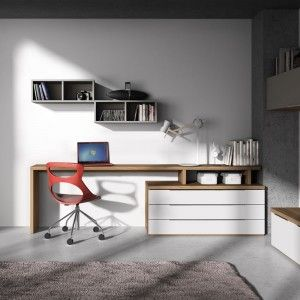bureau plan de travail id e bureau pinterest bureau bureau salon et bureau informatique. Black Bedroom Furniture Sets. Home Design Ideas